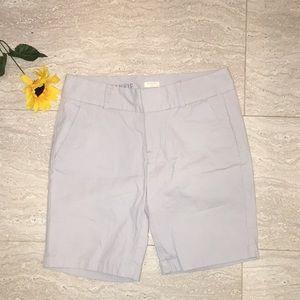 EUC J. Crew 'Frankie' Stretch Bermuda Shorts